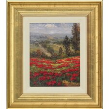 <strong>Epic Art</strong> Poppy Vista II by Hulsey