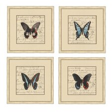<strong>Epic Art</strong> Butterfly Letters I Wall Art Collection