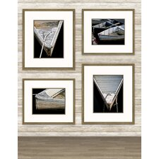 <strong>Epic Art</strong> Wooden Rowboats Wall Art Collection