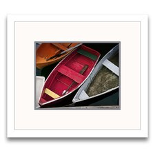 Wooden Rowboats XII Framed Graphic Art