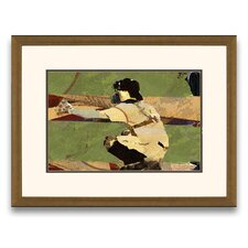 Pastimes of Yesteryear Lets Play Ball I Framed Graphic Art