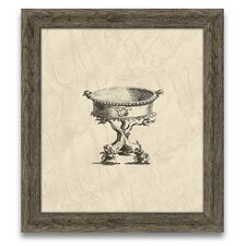 Chippendale Cisterns III Framed Graphic Art