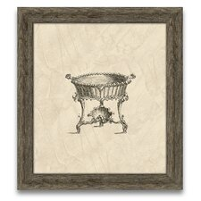 Chippendale Cisterns IV Framed Graphic Art