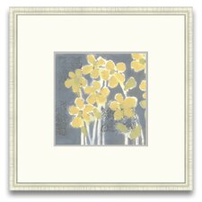 Magnifique Efflorescence Sunny Breeze I Framed Graphic Art