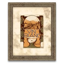 The Connoisseur's Eye Wine Label VII Framed Graphic Art