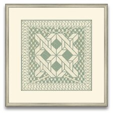 The Pretty Pantile Small Tile I Framed Graphic Art