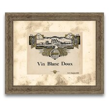 The Connoisseur's Eye Wine Label VIII Framed Graphic Art