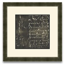 <strong>Epic Art</strong> Rich Script Journal I Wall Art
