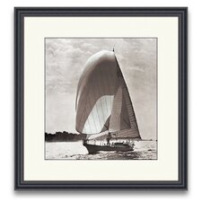 Sail Away Spinnakers II Framed Photographic Print