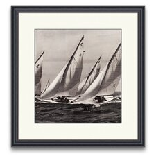 <strong>Epic Art</strong> Sail Away Spinnakers III Wall Art