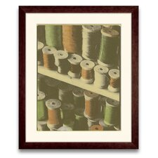<strong>Epic Art</strong> Legacy of Commerce Colored Spools I Wall Art