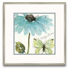 Flora Moderna Morning Dew I Framed Painting Prints