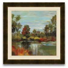 Hidden Pond Hues I Wall Art