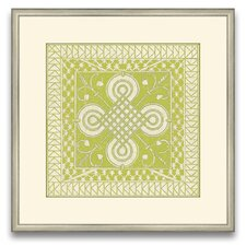 The Pretty Pantile Small Tile II Framed Graphic Art