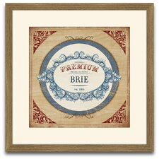 The Connoisseur's Eye Brie Framed Graphic Art