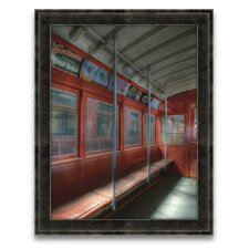 The Spirit of San Francisco The Red Line Circa 1940 Wall Art
