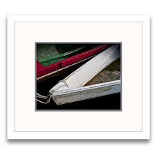Wooden Rowboats VI Wall Art