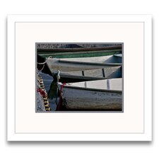 Wooden Rowboats VII Wall Art