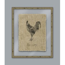 A Rustic Retreat Rooster Wall Art