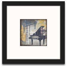 <strong>Epic Art</strong> A Motley Melody Pianos Wall Art