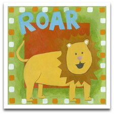 Roar Framed Art