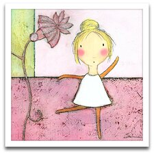 Playroom Bliss Ballerina Framed Art