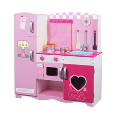 <strong>Classic Toy</strong> Wooden Kitchen Set