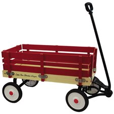 Little Box Wooden Wagon Ride-On