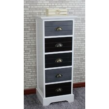 Burnside 5 Drawer Cabinet