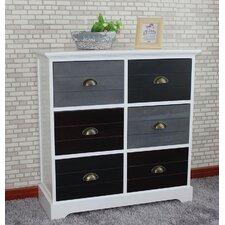 Burnside 6 Drawer Cabinet