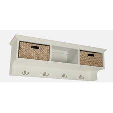 Newport 3 Basket Storage Shelf