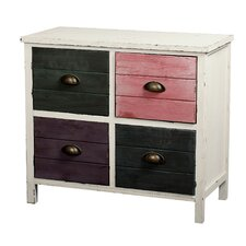 Hampton 4 Drawer Accent Chest