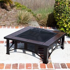 Tuscan Tile Square Fire Pit
