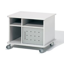 2 Shelf Mobile Cabinet