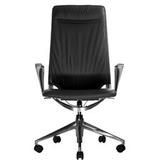 <strong>Wobi Office</strong> Marco II High-Back Leather Chair