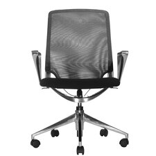 <strong>Wobi Office</strong> Marco Low-Back Mesh Chair with Adjustable Armrest