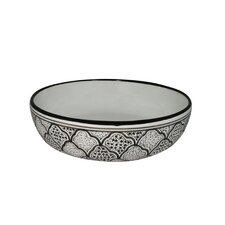 "<strong>Canvas Home</strong> Tunis Handmade 12"" Serving Bowl"