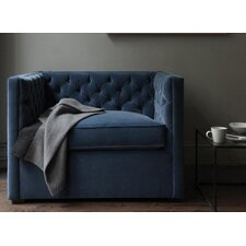 Mercer Tufted Devon Linen Club Chair