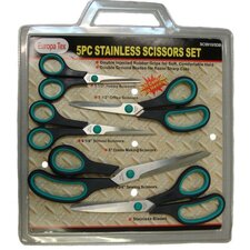 5PC Stainless Scissors Set