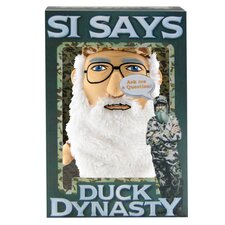 Duck Dynasty Si Interactive Plush