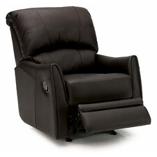 Cricket Leather Chaise Recliner