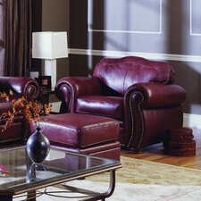 Troon Chair and Ottoman