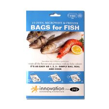 30cm Polyester Fish Bag in Clear