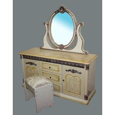 Melaka Dressing Table Set
