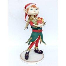 Christmas Boy Elf Statue