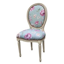 Floral Side Chair