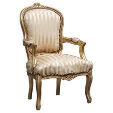 Louis Gold Armchair