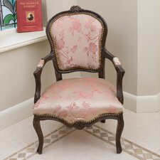 Louis Grey Arm Chair