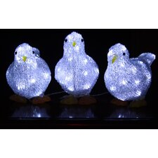Christmas Doves (Set of 3)