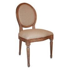 Louis Round Back Side Chair I
